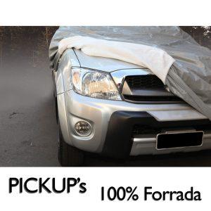 Capa para cobrir carro 100% Forrada Especial – Tamanho PICKUP's